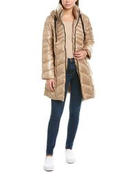 Sam Edelman Quilted Puffer Coat - Brown