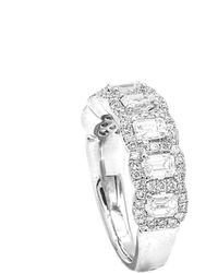 Diana M. Jewels . Fine Jewellery Platinum 2.15 Ct. Tw. Diamond Ring - Metallic