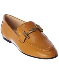Tod's Tod?s Leather Loafer - White