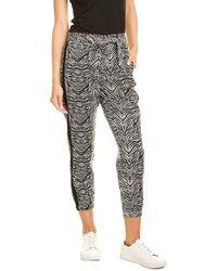 Pam & Gela Tiger Sash Pant - Black