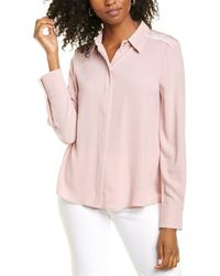 Marc Cain Crepe Shirt - Pink