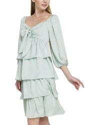 English Factory Midi Dress - Green