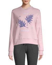 Être Cécile Palm Reader Sweatshirt - Pink