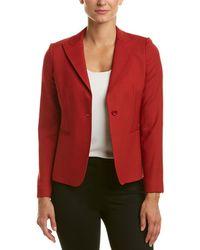Max Mara Wool-blend Jacket - Red