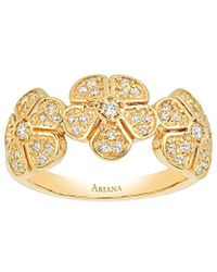 Ariana Rabbani - 14k 0.25 Ct. Tw. Diamond Ring - Lyst