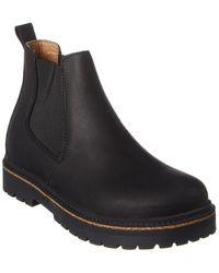 Birkenstock Stalon Leather Boot - Black