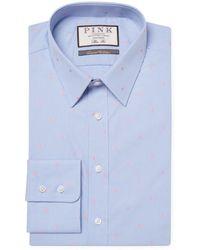 Thomas Pink - Linden Spot Slim Fit Dress Shirt - Lyst