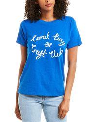 J.Crew Coral Bay T-shirt - Blue
