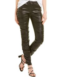 The Row Orshen Leather Legging - Black
