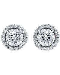 Diana M. Jewels . Fine Jewellery 18k 2.22 Ct. Tw. Diamond Studs - Metallic