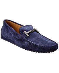 Tod's Tod?s Leather Loafer - Blue