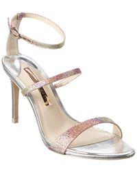 Sophia Webster Rosalind 85 Leather Sandal - Pink