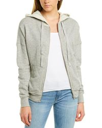 ATM Anthony Thomas Melillo Dropped-shoulder Hooded Jacket - Gray