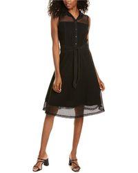 Marella Elodie Midi Dress - Black
