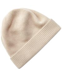 Portolano Cashmere Hat - Natural
