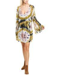 Young Fabulous & Broke Rosa Mini Dress - Blue