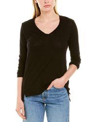 Stateside High-low T-shirt - Black