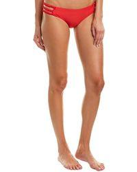 6 Shore Road By Pooja Shore Bikini Bottom - Red