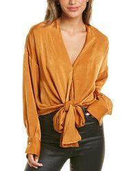 Lucy Paris Gloria Top - Orange