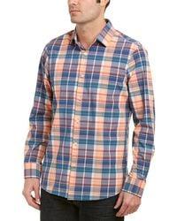 Mizzen+Main - Mizzen+main Potomac Medium Trim Fit Woven Shirt - Lyst