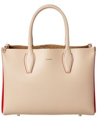 Lanvin - Journee Medium Leather Tote - Lyst