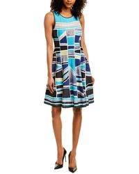 NIC+ZOE A-line Dress - Blue