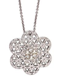 Swarovski - Crystal Plated Ye Mingzi Seed Of Love 30in Necklace - Lyst