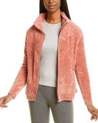 Bobeau Alonso Sherpa Jacket - Pink