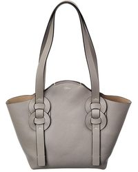 Chloé Darryl Small Leather Tote - Multicolor