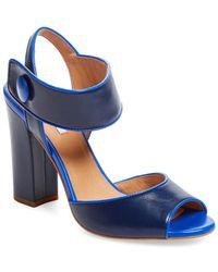 Elorie - Two-piece Block Heel Sandal - Lyst
