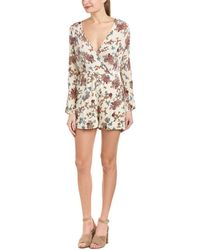 Patrons Of Peace   Printed Romper   Lyst