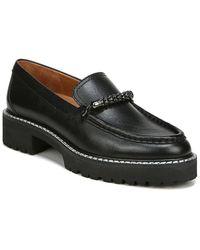 Franco Sarto Domina Leather Loafer - Black