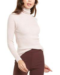 Reiss Opal Wool & Alpaca-blend Jumper - Pink