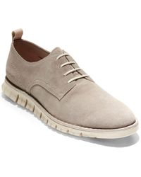 Cole Haan Zerogrand Out Suede Oxford - Grey