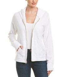 Monrow Oversized Skull Jacket - White