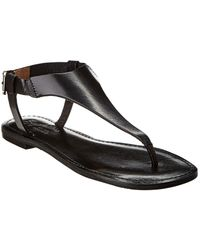 Seychelles Rip Current Leather Sandal - Black