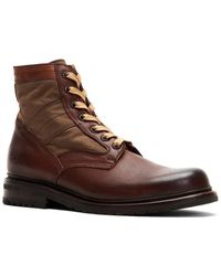 Frye Mayfield Lace-up Leather Boot - Brown