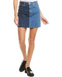 Joe's Jeans The Bella Mini Skirt - Blue