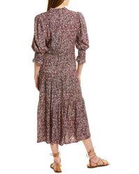 Ba&sh Midi Dress - Pink