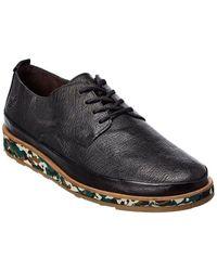 Fly London Jope Leather Sneaker - Black