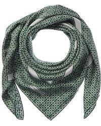 Givenchy Silk Scarf - Green