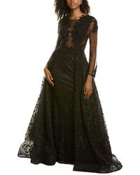 Mac Duggal A-line Gown - Black
