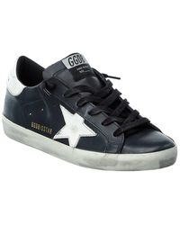 Golden Goose Deluxe Brand Superstar Leather Trainer - Multicolour
