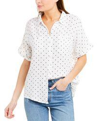 Splendid Gauze Shirt - White