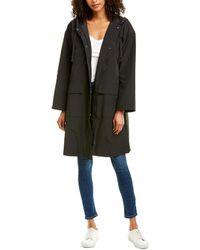 Eileen Fisher Hooded Coat - Black
