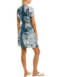 Shan Julia Silk Kimono - Blue