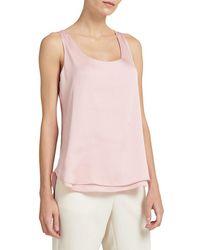 Donna Karan High-low Top - Pink