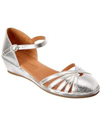 Gentle Souls - Naira Leather Wedge - Lyst