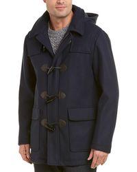 Brooks Brothers - Short Wool-blend Duffle Coat - Lyst