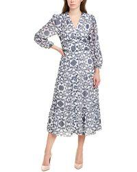 Shoshanna Demetria Midi Dress - Grey